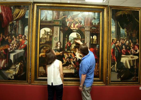 El restaurador del Prado indica que el estado del 'Tríptico de Nava' es óptimo