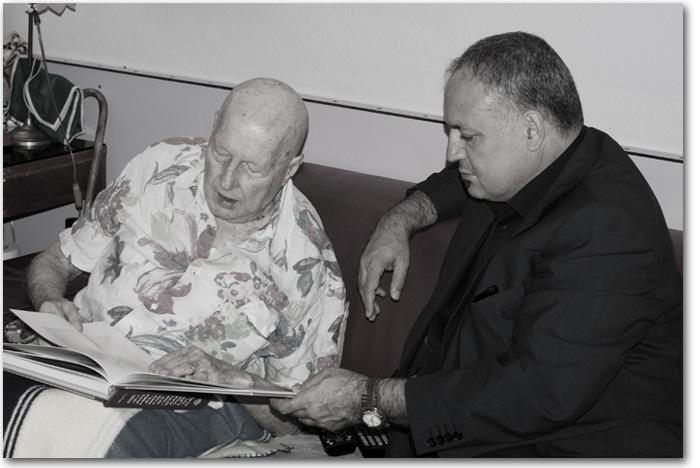 Juan Hidalgo y Nino Díaz