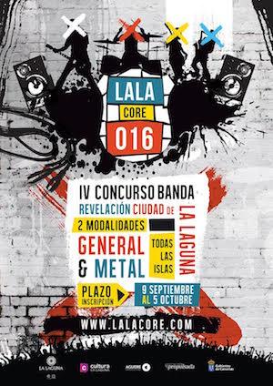 El OAAM pone en marcha la cuarta edición del concurso regional de grupos de música 'LALAcore'
