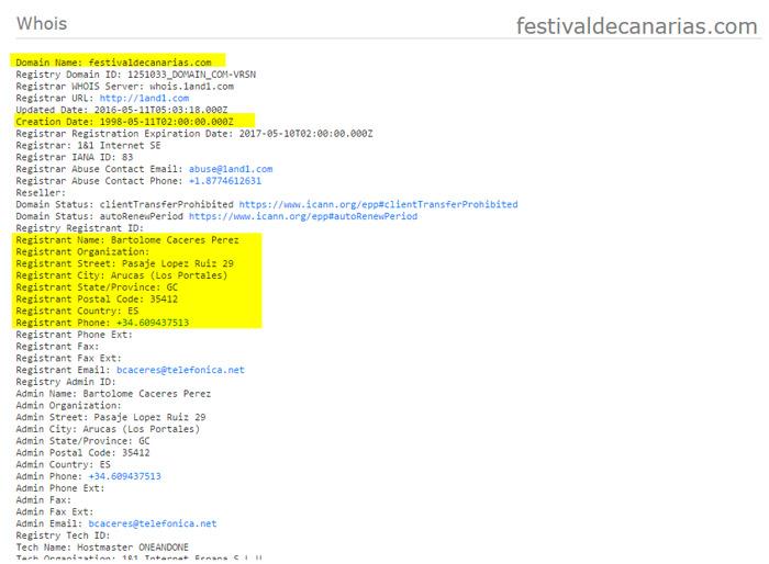 dominio festival