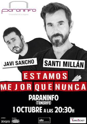 Fin de semana de comedia en el Paraninfo