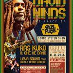 David Hinds, la voz de Steel Pulse en directo en Tenerife