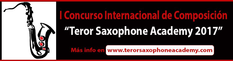 Teror Saxophone Academy 2017