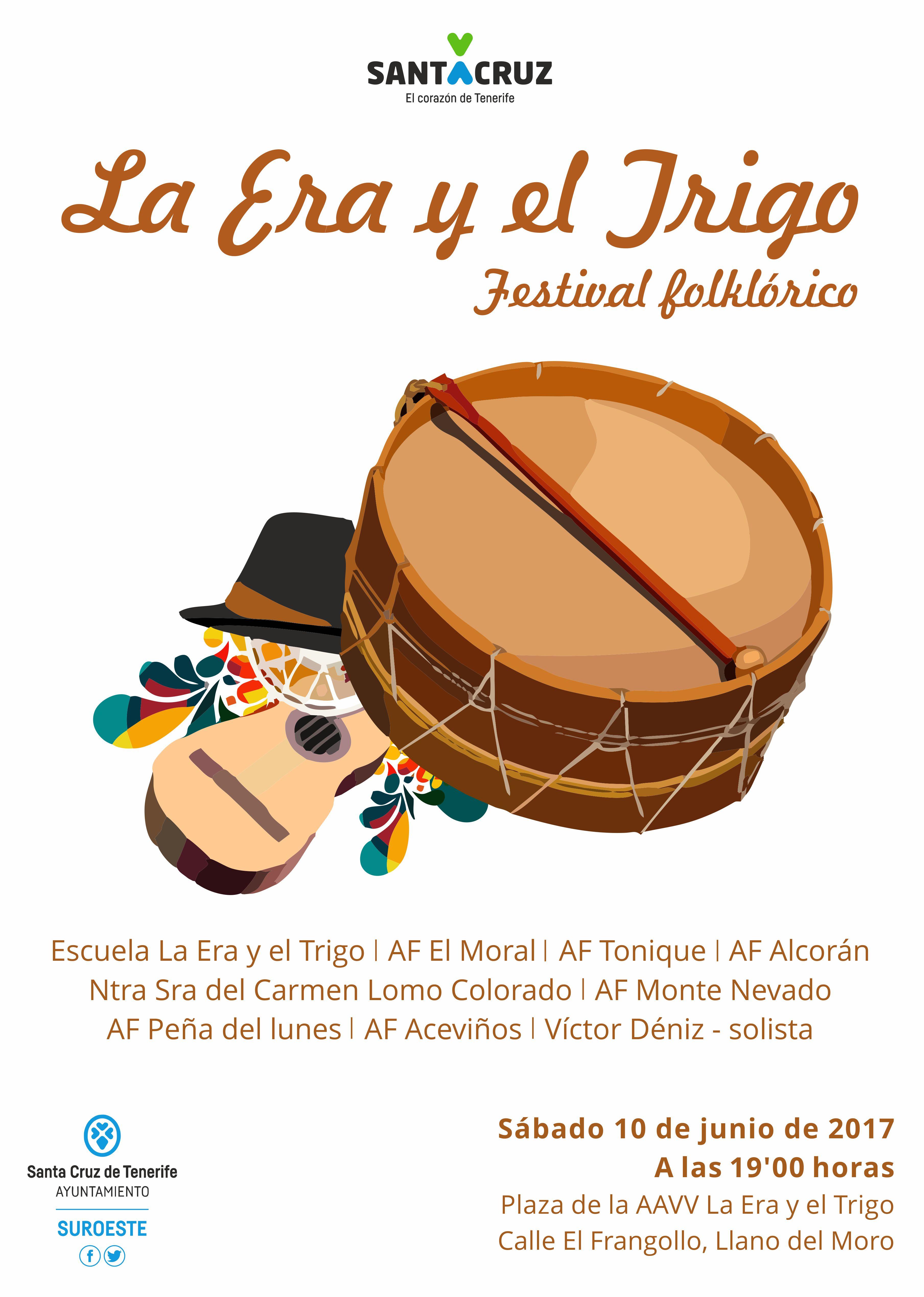 Festival folclórico La Era y el Trigo