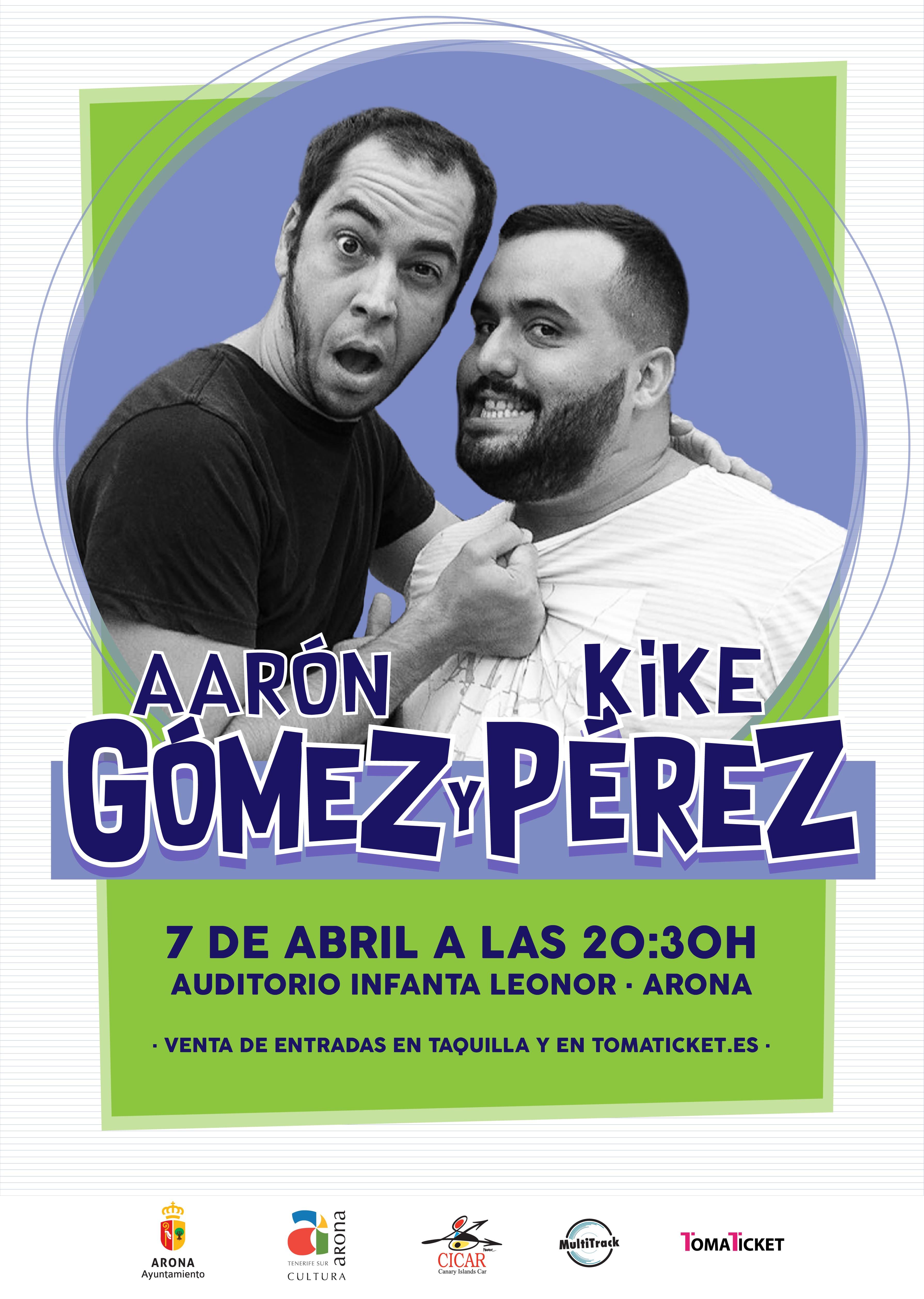 Aarón Gómez y Kie Pérez