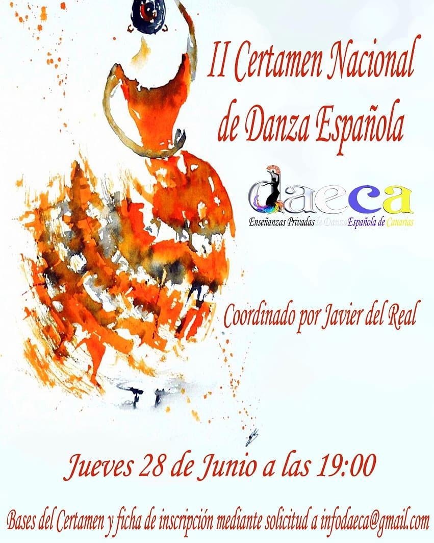 II Certamen Nacional de Danza Española