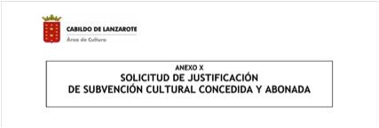 subvenciones a proyectos culturales 2017 en Lanzarote