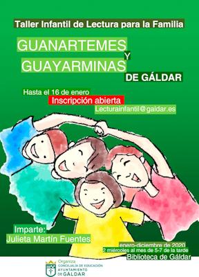 Taller Infantil de Lectura Para Toda la Familia Guanartemes y Guayarminas